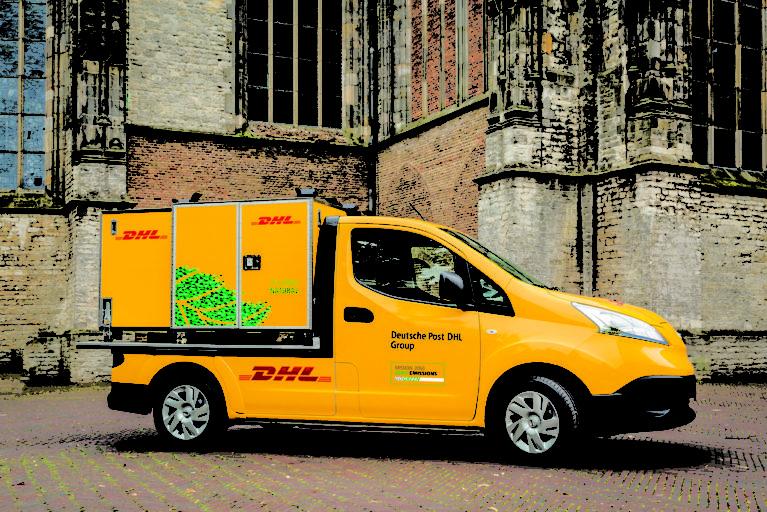 DHL Express innovatieve vervoersmiddelen