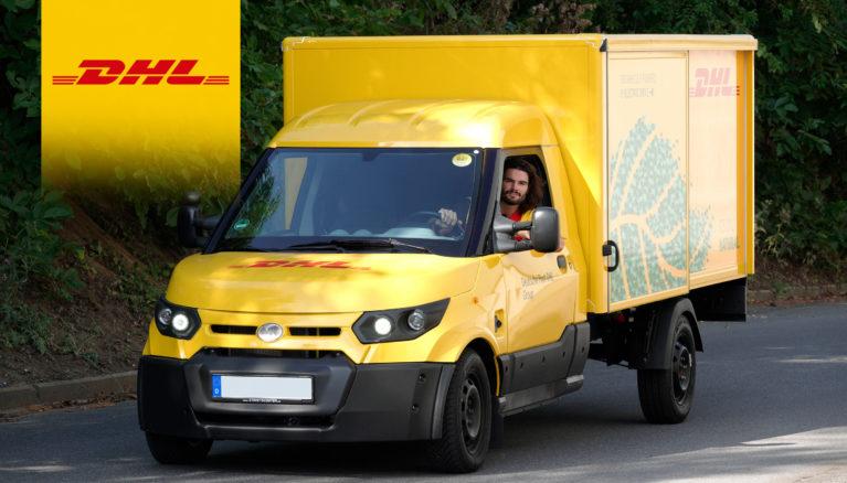 DHL Express test elektrische bestelwagen StreetScooter in België